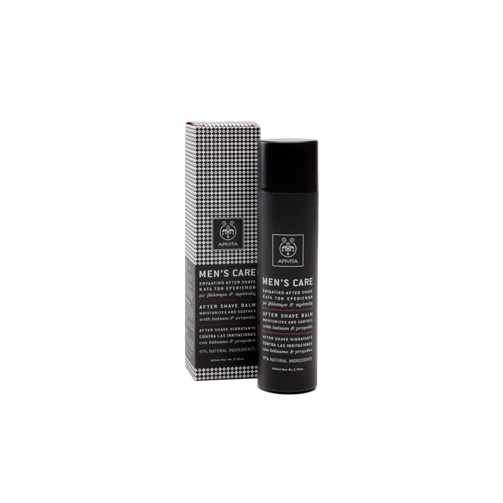APIVITA - Men's Care After Shave Balm with balsam & propolis, 100 ml