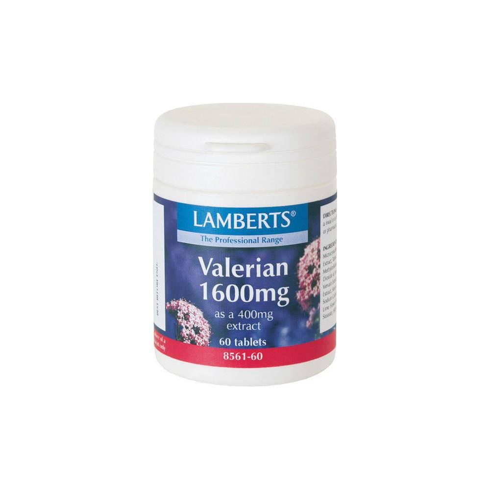 Lamberts Valerian 1600mg 60tabs