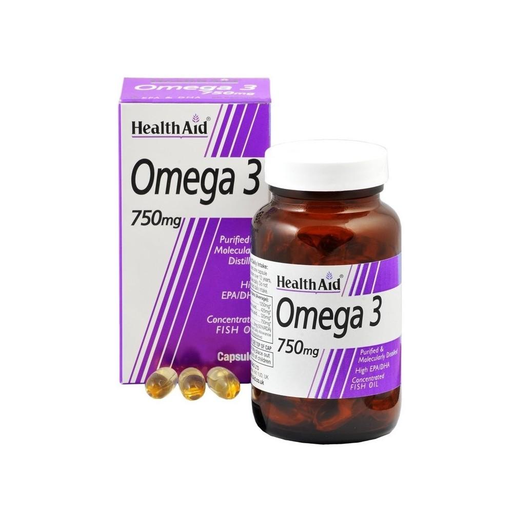 Health Aid Omega 3 750mg 60caps