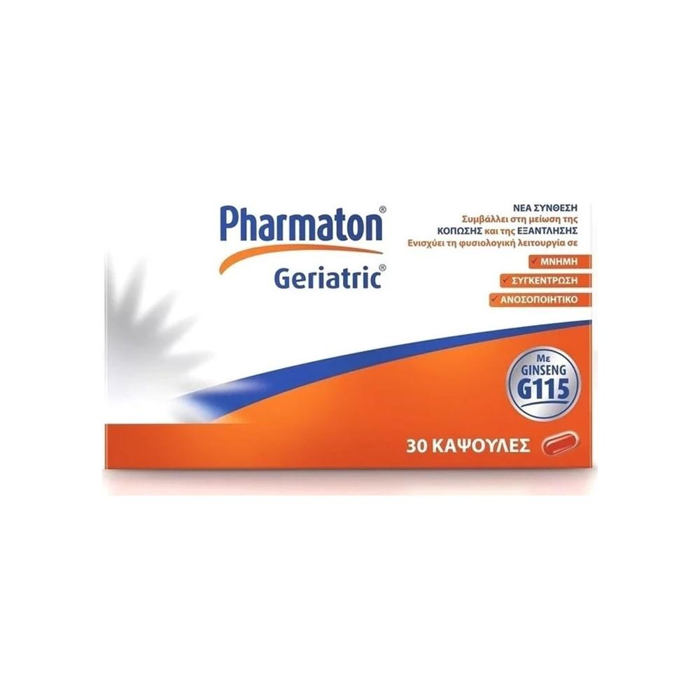 Pharmaton Geriatric 30caps