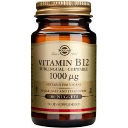 Solgar Vitamin Β12 1000μg 100nuggets