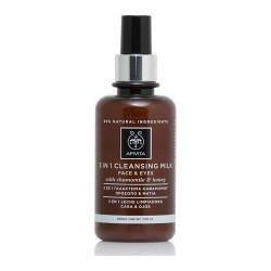 Apivita Cleansing Γαλάκτωμα 3 σε 1 για Πρόσωπο & Μάτια με Χαμομήλι & Μέλι 200ml