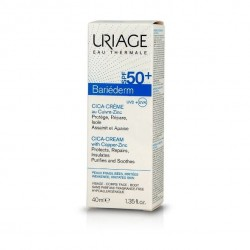 Uriage Bariederm Cica-Cream with Copper-Zinc Spf50+ 40ml