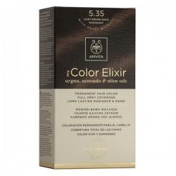 Apivita My Color Elixir Μόνιμη Βαφή Μαλλιών Καστανό Ανοιχτό Μελί Μαονί 5.35  1τμχ
