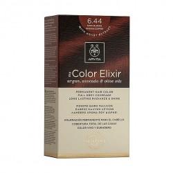 Apivita My Color Elixir Μόνιμη Βαφή Μαλλιών No 6.44 Ξανθό Σκούρο Έντονο Χάλκινο