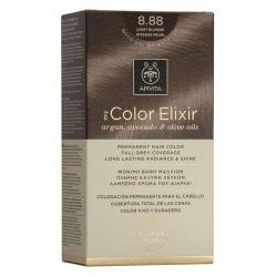 Apivita My Color Elixir Μόνιμη Βαφή Μαλλιών No 8.88 Ξανθό Ανοιχτό Έντονο Περλέ