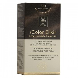 Apivita My Color Elixir Μόνιμη Βαφή Μαλλιών  Καστανό Ανοιχτό 5.0  1τμχ