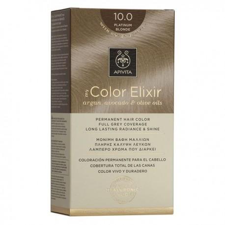 Apivita My Color Elixir Μόνιμη Βαφή Μαλλιών  Κατάξανθο 10.0  1τμχ