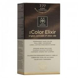Apivita My Color Elixir Μόνιμη Βαφή Μαλλιών No 7.77 Ξανθό Έντονο Μπεζ