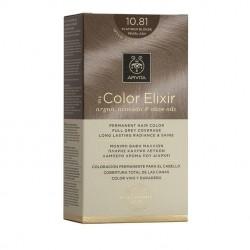 Apivita My Color Elixir Μόνιμη Βαφή Μαλλιών No 10.81 Κατάξανθο Περλέ Σαντρέ