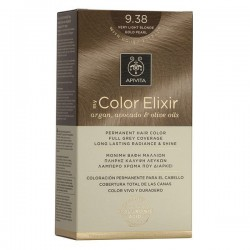 Apivita My Color Elixir Μόνιμη Βαφή Μαλλιών No 9.38 Ξανθό Πολύ Ανοιχτό Μελί Περλέ