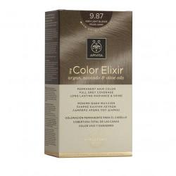 Apivita My Color Elixir Μόνιμη Βαφή Μαλλιών Ξανθό Πολύ Ανοιχτό Περλέ Μπεζ 9.87 1τμχ