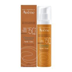 Avene Cleanance Solaire Unifying Tinted SPF50+ Αντηλιακό Προσώπου με Χρώμα για Λιπαρό & με Τάση Ακμής Επιδερμίδα 50ml