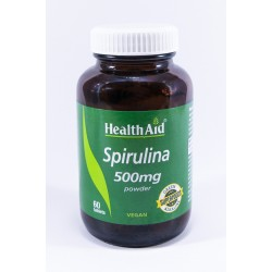 Health Aid Spirulina 500mg tabs