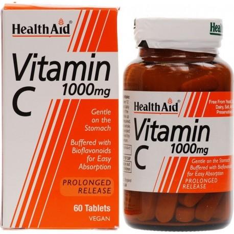 Health Aid Vitamin C 1000mg Prolonged Release 60tabs