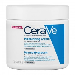 CeraVe Moisturising Cream Ενυδατική Κρέμα Προσώπου & Σώματος 454g