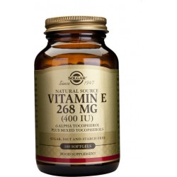 Solgar Vitamin E Natural 400 IU 100 softgels