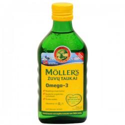 Moller's Μουρουνέλαιο Natural Παραδοσιακό Μουρουνέλαιο σε Υγρή Μορφή με την Κλασσική Γεύση του Μουρουνέλαιου 250ml