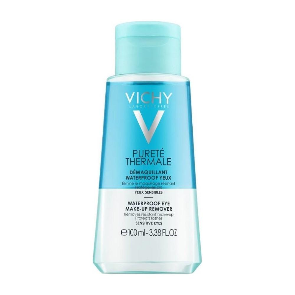 Vichy Purete Thermale Ντεμακιγιάζ Ματιών για Αδιάβροχο Μακιγιάζ 100ml