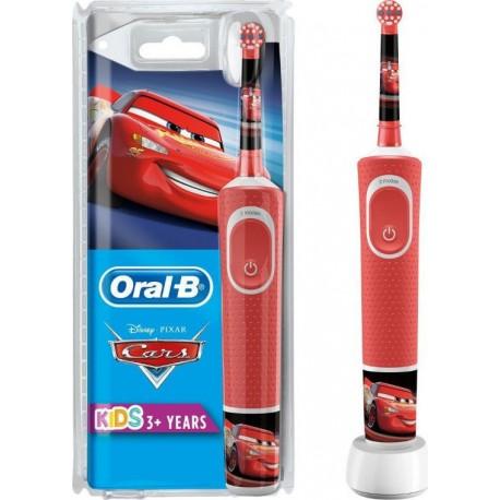Oral-B Kids Ηλεκτρική Οδοντόβουρτσα Cars για Αγόρι 3 Ετών+