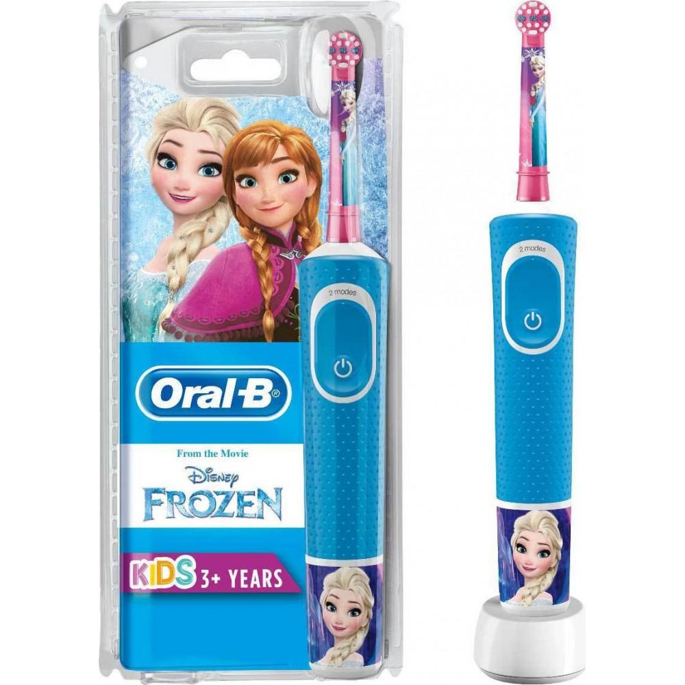 Oral-B Vitality Kids Frozen Παιδική Ηλεκτρική Οδοντρόβουρτσα 3 ετών+
