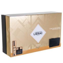 Lierac Premium La Cure Anti-Age Absolu Αγωγή Αντιγήρανσης 30ml & Premium Voluptuese Cream 50ml & Δώρο Δερμάτινο Πορτοφόλι