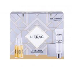Lierac Cica-Filler Serum 3x10ml & ΔΩΡΟ Cica-Filler Mat Gel-Cream 40ml & Δερμάτινο Πορτοφόλι