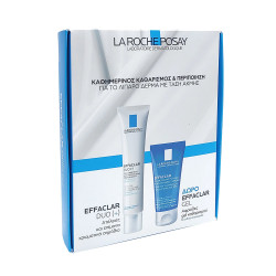 La Roche Posay σετ περιποίησης Effaclar duo(+) 40ml & Effaclar Gel 50ml