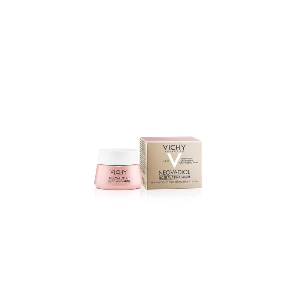 Vichy Neovadiol Rose Platinium Eye Cream Αντιγηραντική Κρέμα Ματιών 15ml