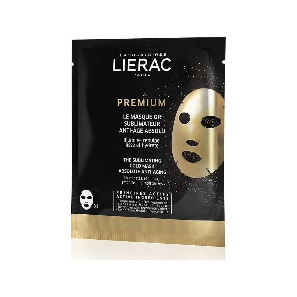 Lierac Premium The Sublimating Gold Mask 20ml Χρυσή Μάσκα Αντιγήρανσης