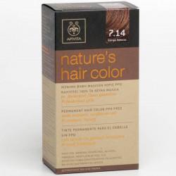 Apivita Nature's Hair Color 7.14 Σαντρε Χάλκινο