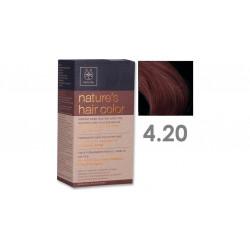 Apivita Nature's Hair Color 4.20 Βιολετί