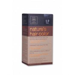 Apivita Nature's Hair Color 1.0 Mαύρο
