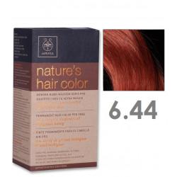 Apivita Nature's Hair Color 6.44 Σκούρο Χάλκινο