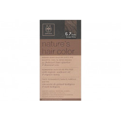Apivita Nature's Hair Color 6.7 Ξανθό Σκούρο Μπέζ