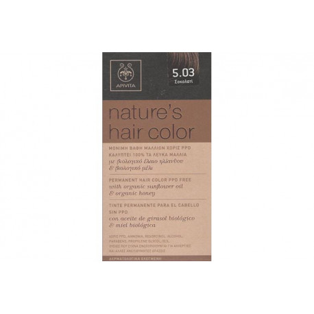 Apivita Nature's Hair Color 5.03 Σοκολατί