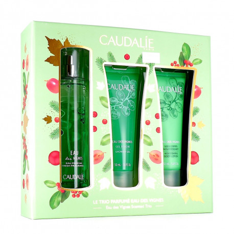 Caudalie Σετ Προσφορα Eau des Vignes Fresh Fragrance 50ml & Shower Gel 50ml & Body Lotion 50ml