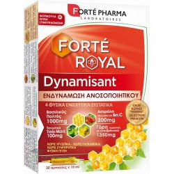 Forte Pharma Forteroyal Dynamisant Immune Συμπλήρωμα Διατροφής 20 αμπούλες x 10ml