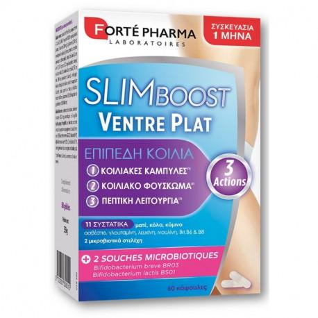Forte Pharma Slimboost Ventre Plat Συμπλήρωμα Διατροφής 60 Κάψουλες