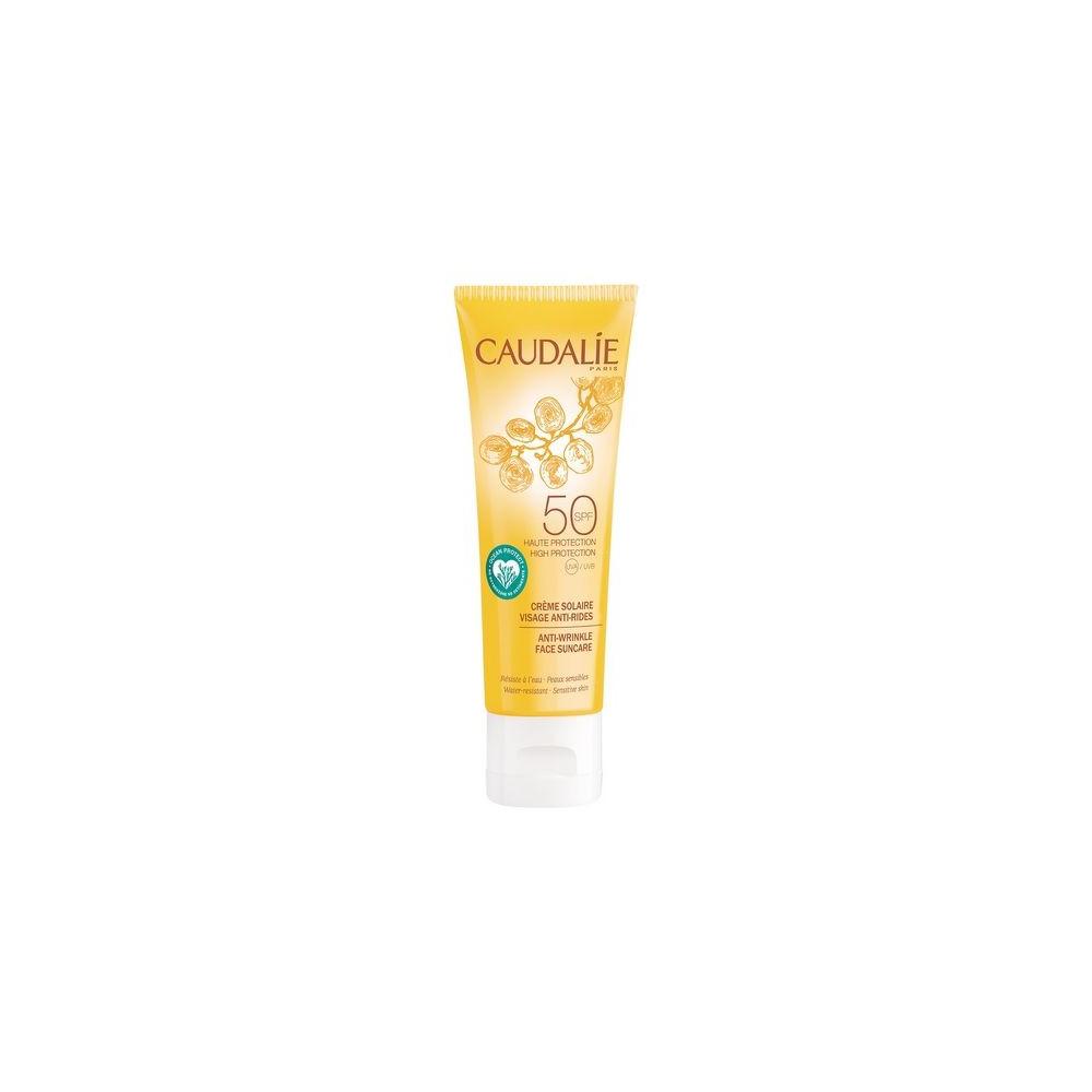 Caudalie Anti-wrinkle Face Suncare SPF30 Αντηλιακή Αντιγηραντική Κρέμα Προσώπου 50ml