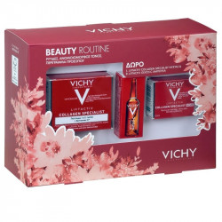 Vichy Beauty Routine σετ Collagen Specialist Day Cream 50ml Night Cream 15ml & Glyco-C Ampoule 2ml