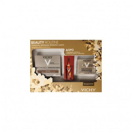 Vichy Beauty Routine Σετ Neovadiol Compensating Κρέμα Ημέρας 50ml & Neovadiol Κρέμα Νύχτας 15ml & Liftactiv  Αμπούλα Νύχτας 2ml