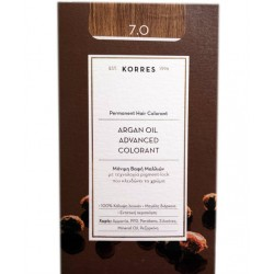 Korres Argan Oil Advanced Colorant 7.0 Ξανθό Φυσικό