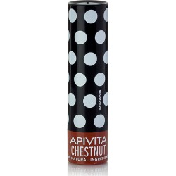 Apivita Lip Care Κάστανο 4.4gr