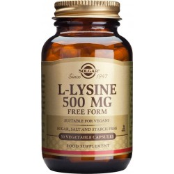 Solgar L-Lysine 500mg...